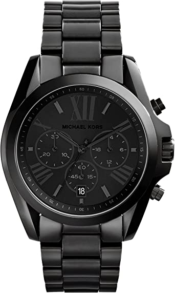 Amazon.com: Michael Kors Women's Bradshaw Quartz Watch with .