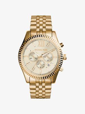 Lexington Gold-Tone Watch | Michael Ko