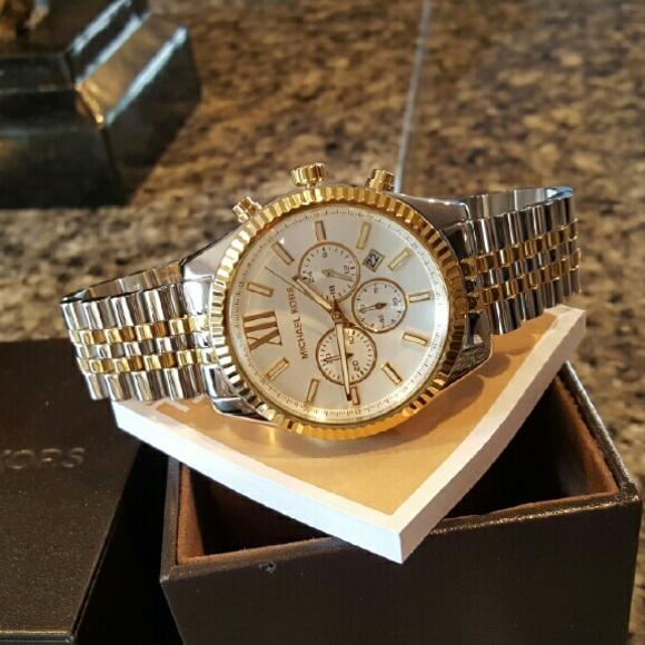 Michael Kors Accessories | New Mens Lexington 45mm Watch Mk8344 .