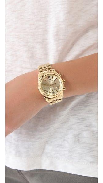 Lexington Watch | Michael kors, Michael kors chronograph watch .