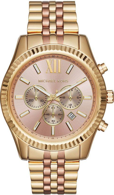 Women's Michael Kors Lexington Chronograph Watch MK64