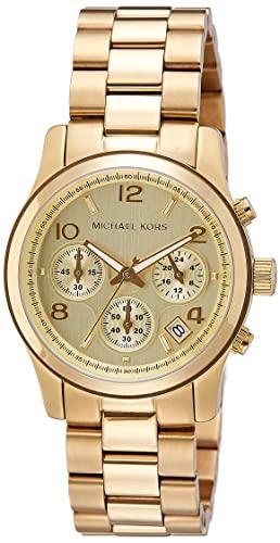 Buy Michael Kors Analog Gold Dial Women's Watch - MK5055 Online at .