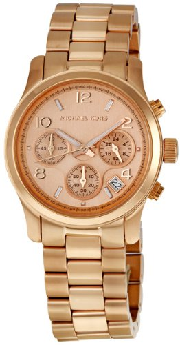 Best Price Fast Shipping Michael Kors MK5128 Quartz Rosegold Round .
