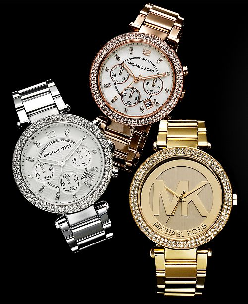 Michael Kors Customer Favorites Parker Watches & Reviews .