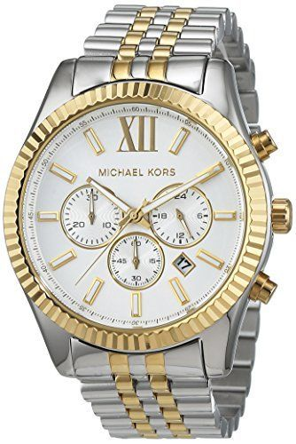 Michael Kors Mens Lexington Analog Sport Quartz Watch (Imported .