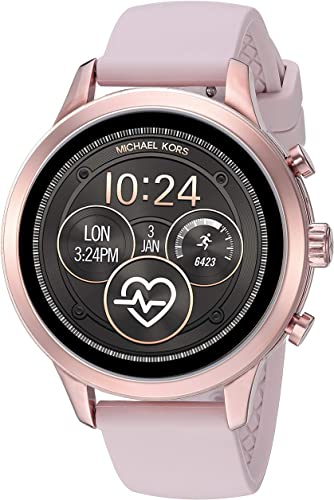 Amazon.com: Michael Kors Women's Access Runway Stainless Steel .