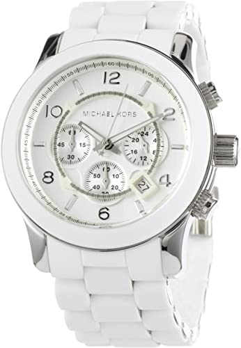 Amazon.com: Michael Kors Men's MK8108 Runaway Stainless Steel .