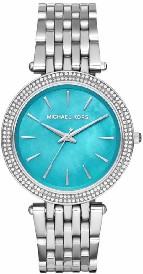 Women's Michael Kors Darci Turquoise Steel Watch MK35