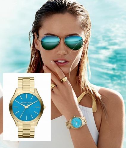 Michael Kors' Turquoise Watch