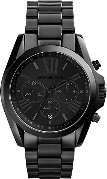 Amazon.com: Michael Kors Women's Bradshaw Quartz Watch with .