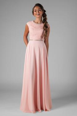 Affordable Modest Prom Dresses : Bethie Pink – LatterDayBri