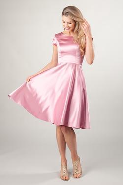 Modest Short Prom Gowns : Sarah Victorian Rose – LatterDayBri