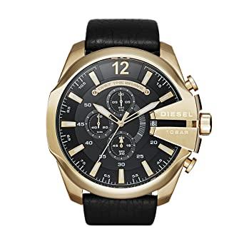 Buy Diesel Chronograph Black Dial Men's Watch Online at Low Prices .