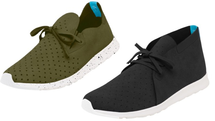 Keep it light with the Native Shoes Apollo Collectio