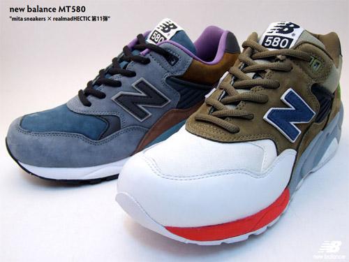 Mita Sneakers × realmad HECTIC x New Balance MT580 | HYPEBEA