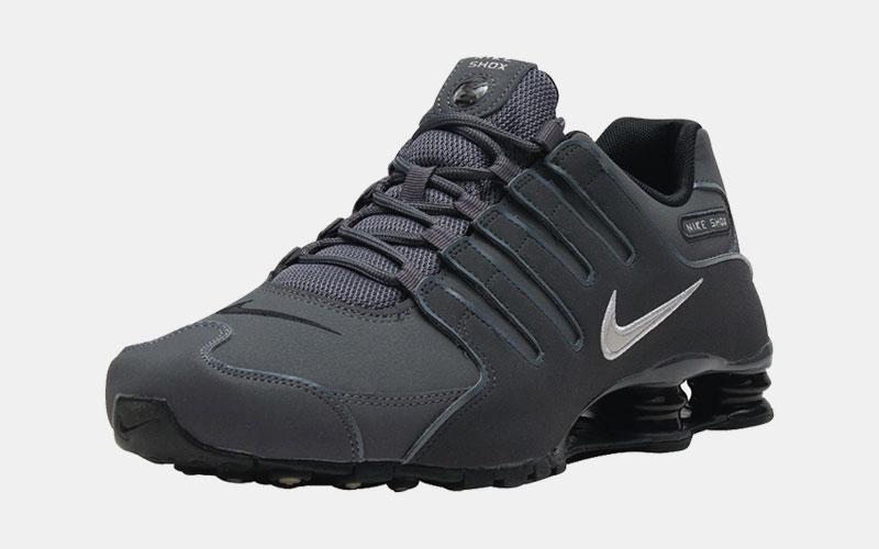 Nike Shox NZ Gray Sneaker Sale $71.99 - Solerac