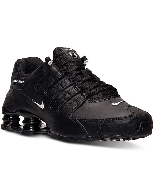 Nike Men's Shox NZ EU Running Sneakers from Finish Line & Reviews .