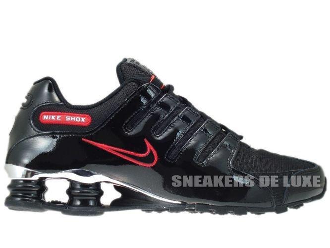 Nike Shox NZ EU Black/Sport Red 325201-0