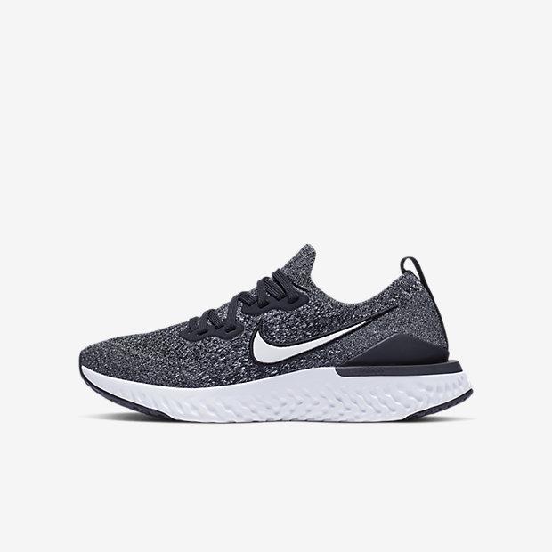 Nike Epic React Flyknit 2 Older Kids' Running Shoe. Nike