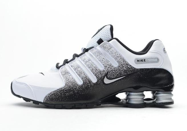 Nike Shox NZ - Black - White - Metallic Silver - SneakerNews.c