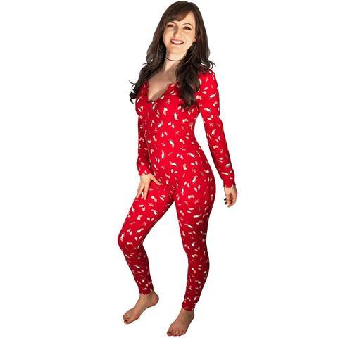 "Women's Footed Pajamas – tagged ""size-xl"" – PajamaCi"