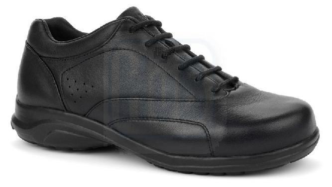Oasis Women's Leela Orthopedic Shoes - Black   DiabeticShoesH