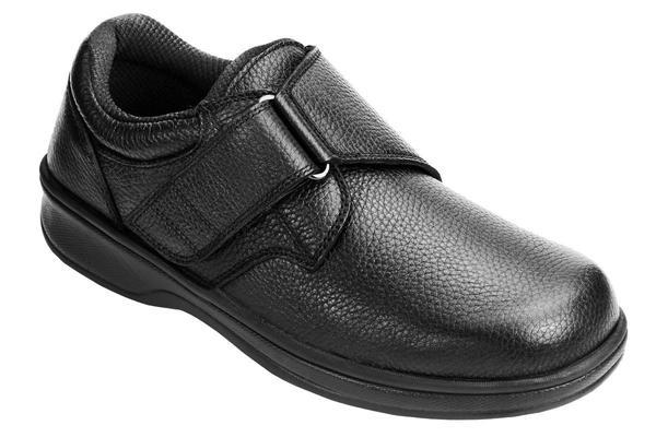Broadway Black Orthotic Men's Shoes   OrthoFe