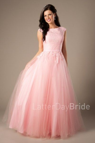 modest-prom-dress-lottie-pink-front-2 | Prom dresses modest .
