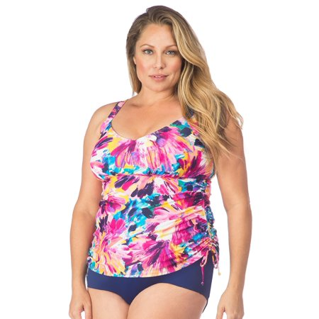 Maxine - Women's Plus Size Bathing Suit Top with Underwire .