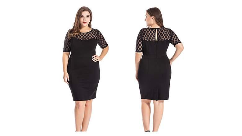 Top 20 Perfect Plus Size Little Black Dresses 2018 | Heavy.c