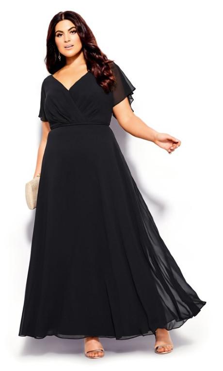 Shop Women's Plus Size Plus Size Sweet Wishes Maxi Dress - bla