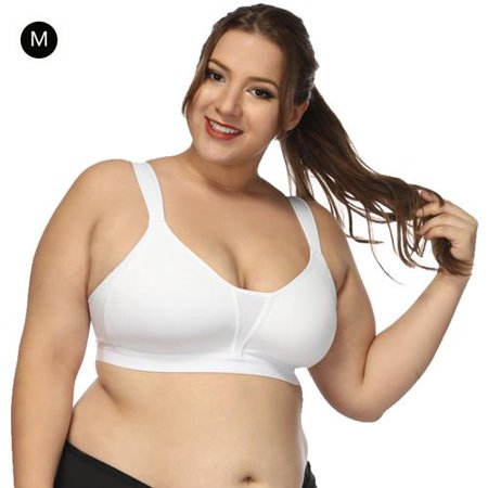cottcuboaba - Women Plus Size Sports Bra No Scratch Seamless .