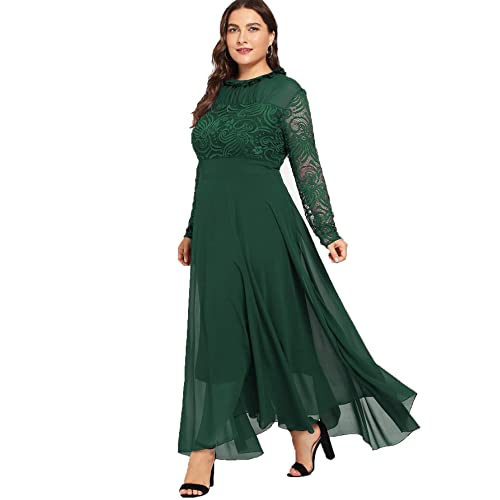 Green Plus Size Dress: Amazon.c