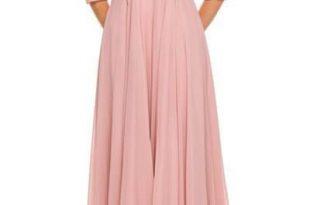 Plus size long chiffon evening dress - juliet 584 – Simply Fab Dre