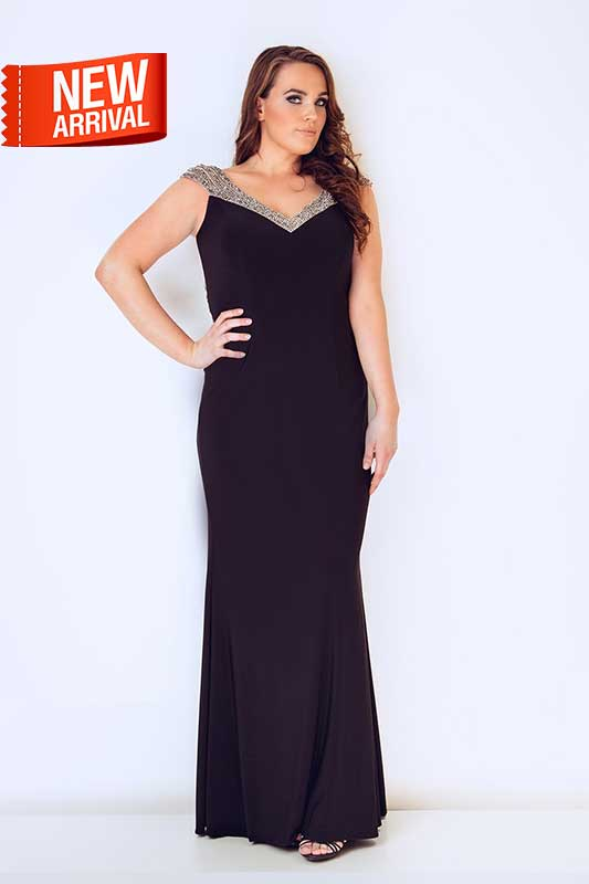 Plus Size Black Evening Gowns – Fashion dress