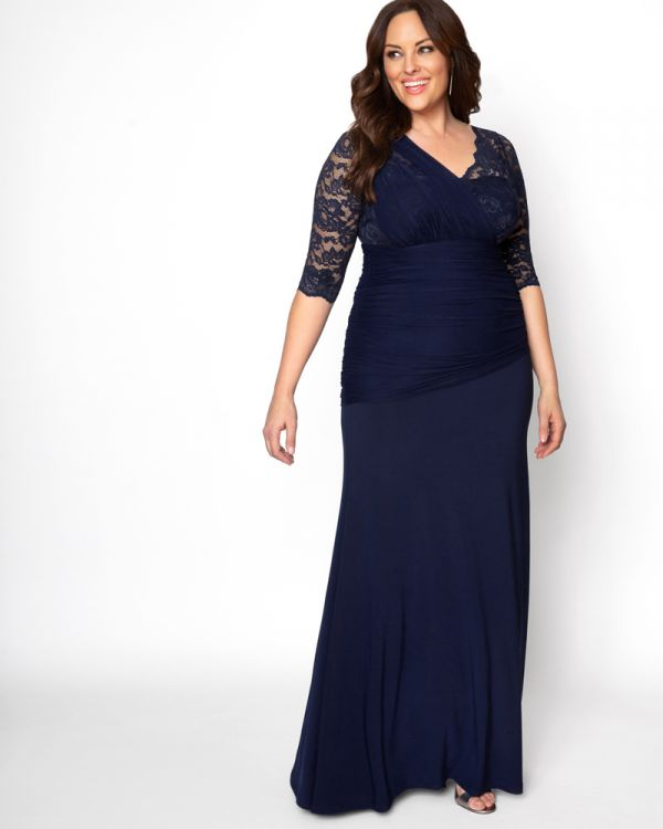Soiree Evening Gown | Women's Plus Size Formal Dre