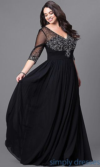 Plus Size Evening Wear