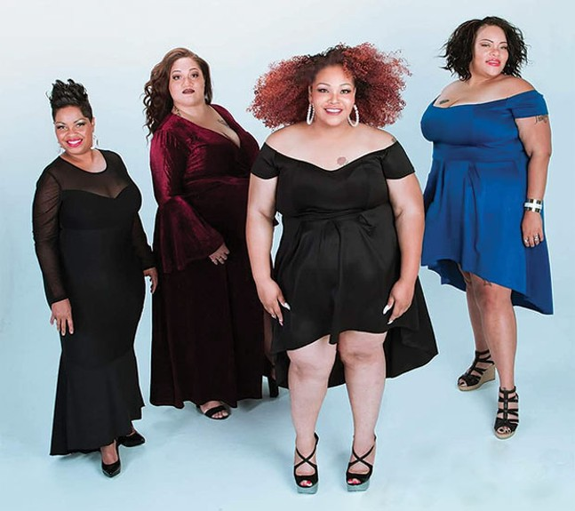 Plus-size fashion show comes to Lawrenceville to uplift body .