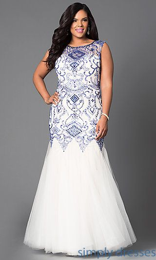 Plus Size Formal Prom Dresses, Evening Gowns   Plus size prom .