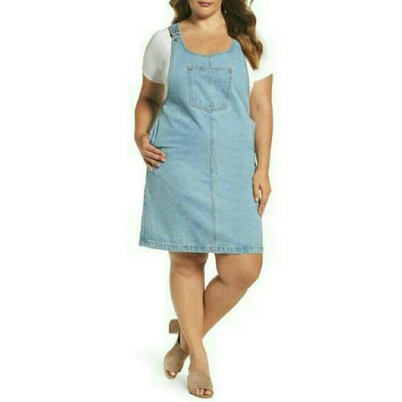 Glamorous Curve Dresses   Denim Plus Size Jumper Dress   Poshma