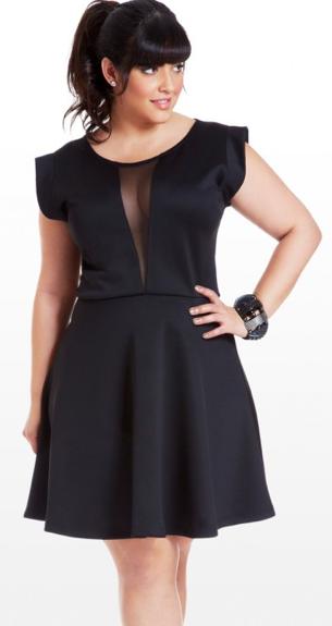 CLASSIC PLUS SIZE STYLE: THE LITTLE BLACK DRESS   Plus size black .