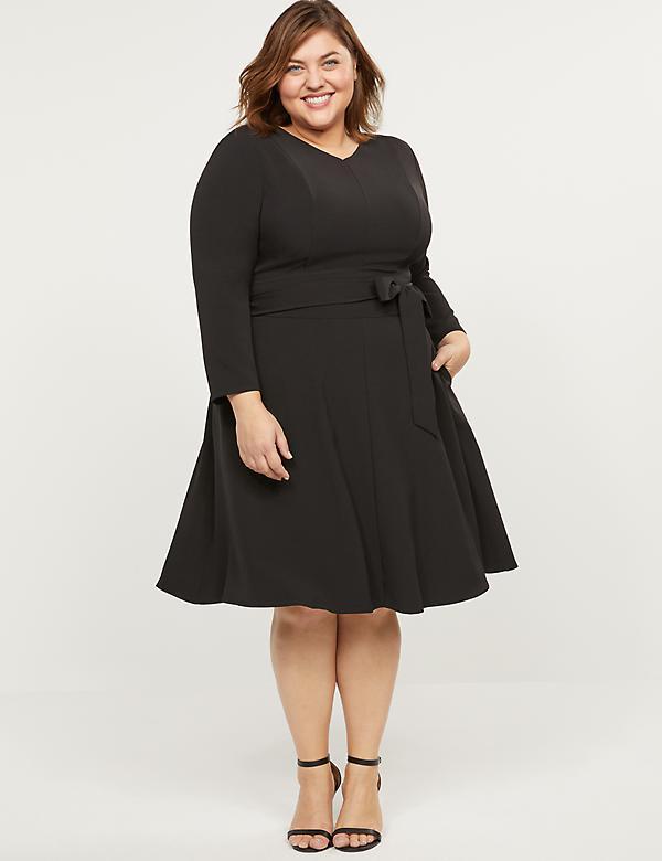 Plus Size Little Black Dresses   Lane Brya