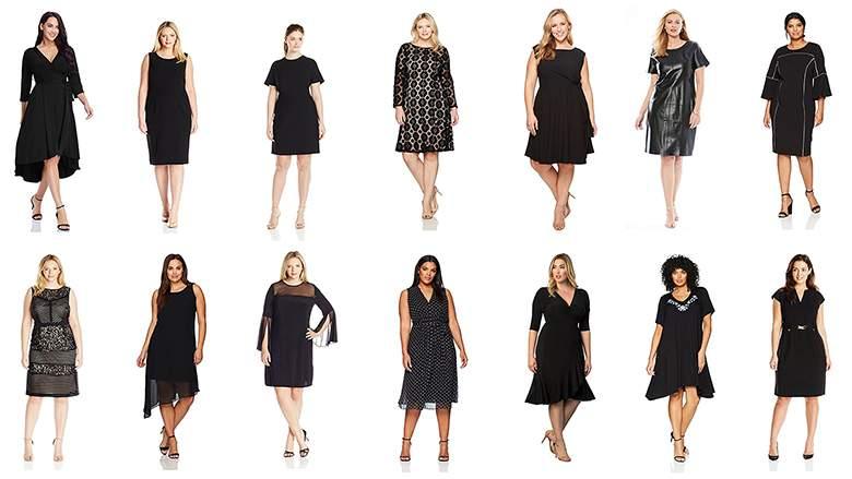 Top 20 Perfect Plus Size Little Black Dresses 2018   Heavy.c