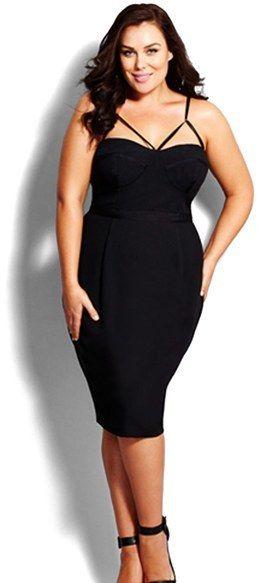 Plus Size Little Black Dress   Plus size black dresses, Plus size .