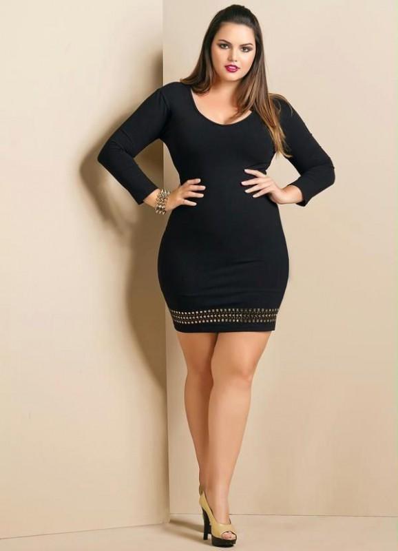 Little Black Dress Plus Size 5 best outfits - curvyoutfits.c