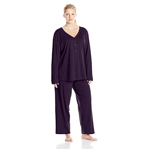 Plus Size Cotton Pajamas: Amazon.c