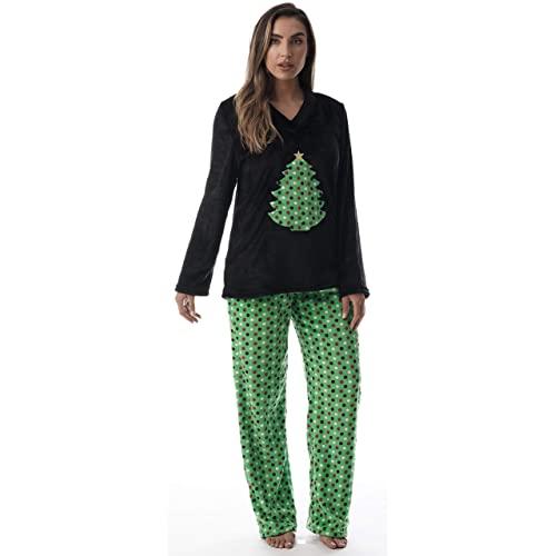 Womens Plus Size Christmas Pajamas: Amazon.c