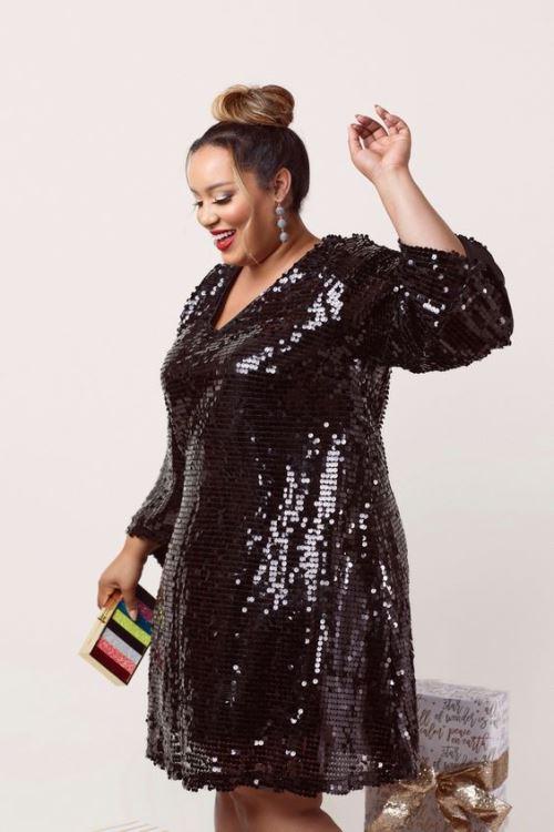 Women's Plus Size Christmas Party Dresses | Plus Size A