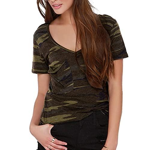 Plus Size Camouflage Shirt: Amazon.c