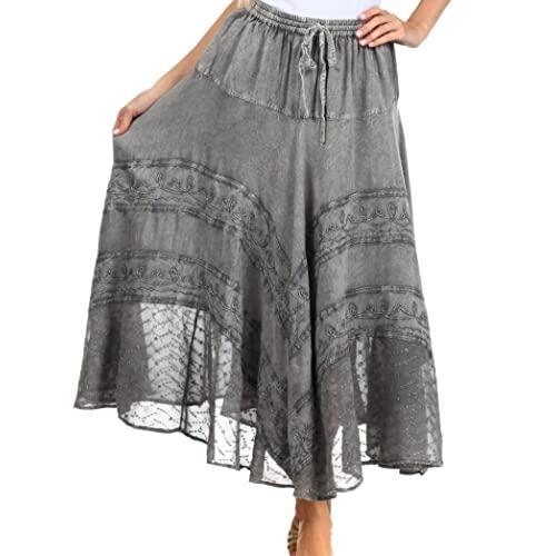 Plus Size Bohemian Skirt: Amazon.c